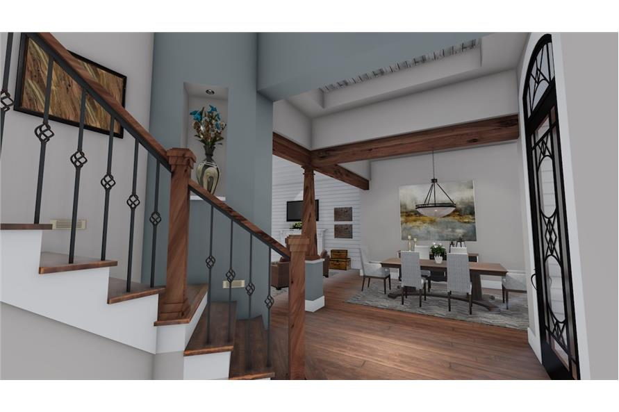 Dining Room of this 3-Bedroom,2504 Sq Ft Plan -2504