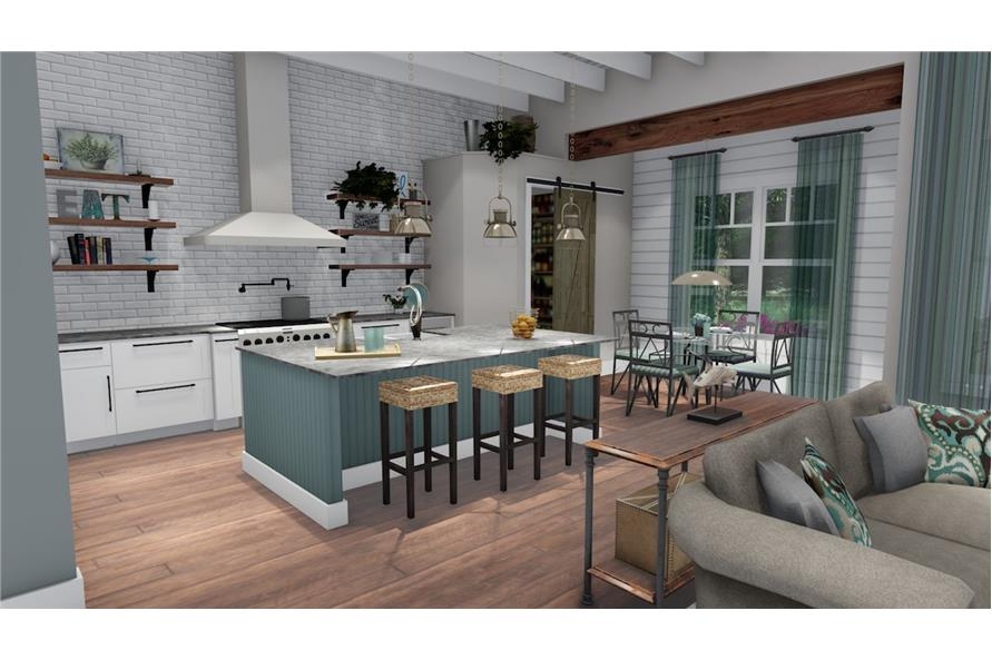 Kitchen of this 3-Bedroom,2504 Sq Ft Plan -2504