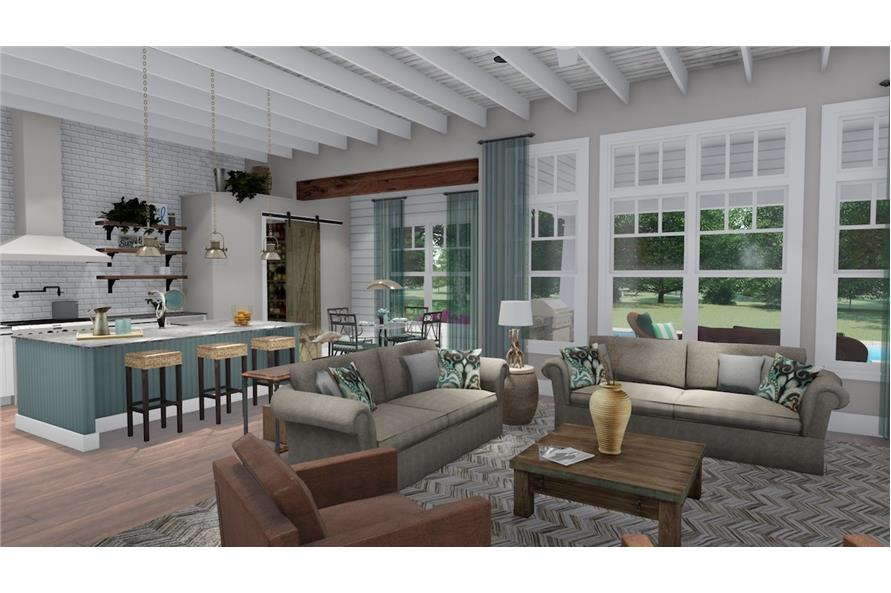 Great Room of this 3-Bedroom,2504 Sq Ft Plan -2504