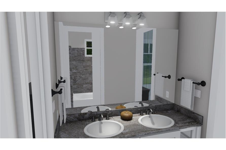 Bathroom of this 3-Bedroom,2504 Sq Ft Plan -2504