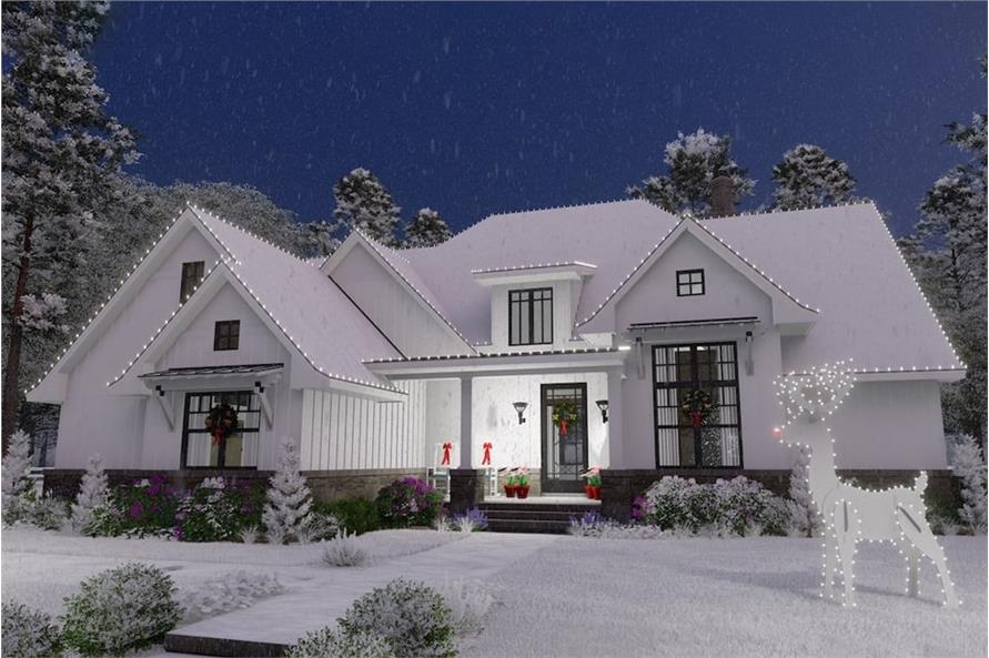 Home at Holidays of this 4-Bedroom,2191 Sq Ft Plan -2191