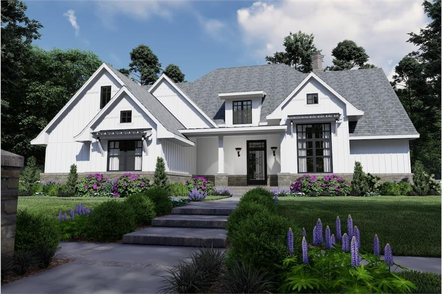 Home Exterior Photograph of this 4-Bedroom,2191 Sq Ft Plan -2191