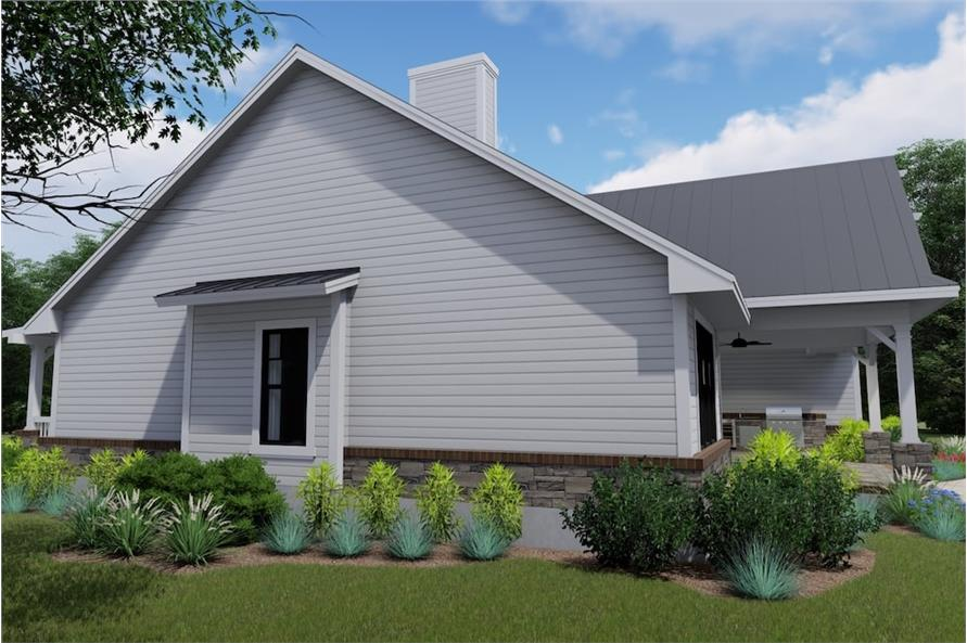 Right Side View of this 3-Bedroom,2270 Sq Ft Plan -2270