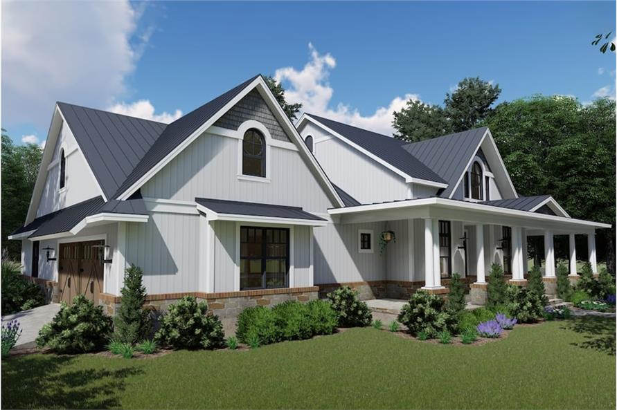 Left Side View of this 3-Bedroom,2787 Sq Ft Plan -2787