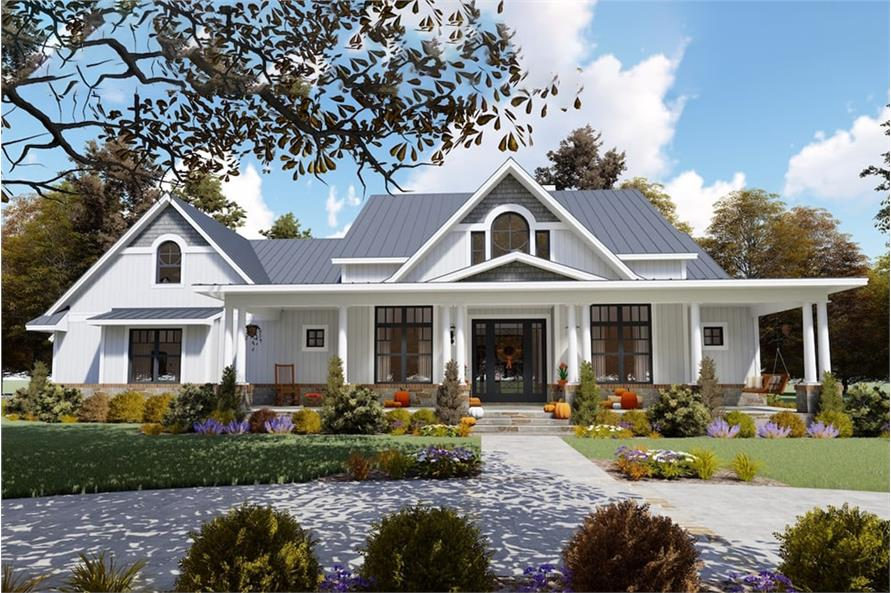 Home Exterior Photograph of this 3-Bedroom,2787 Sq Ft Plan -2787