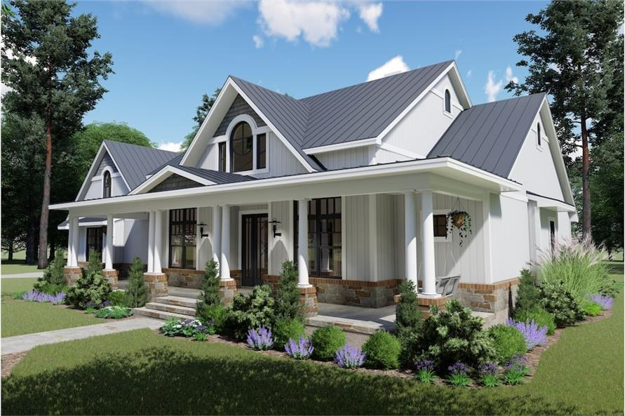 Right Side View of this 3-Bedroom,2787 Sq Ft Plan -2787