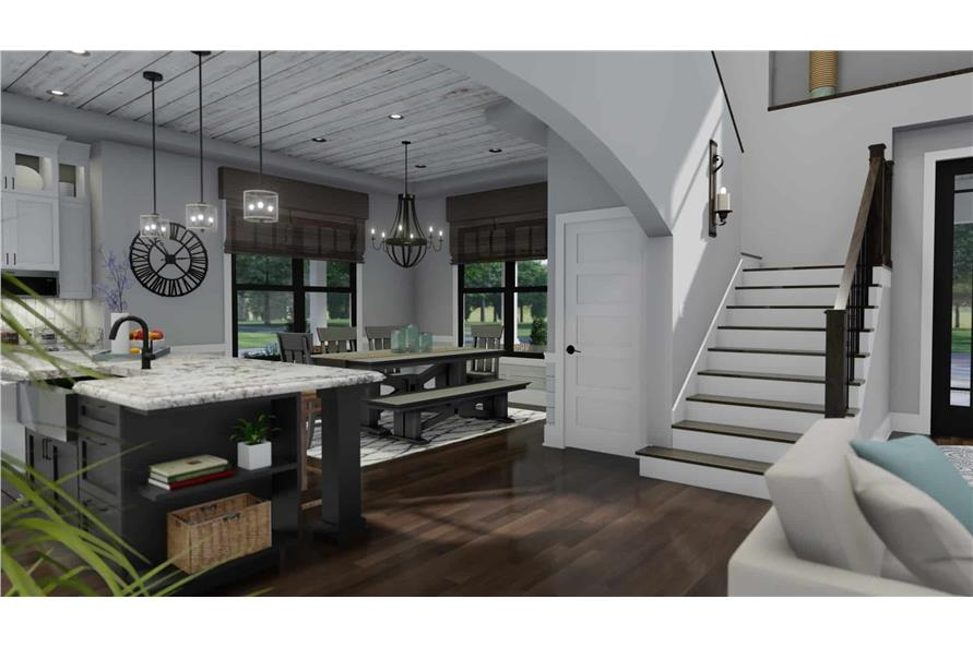 Entry Hall: Staircase of this 3-Bedroom,2214 Sq Ft Plan -2214