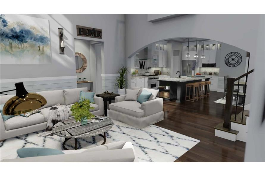 Great Room of this 3-Bedroom,2214 Sq Ft Plan -2214