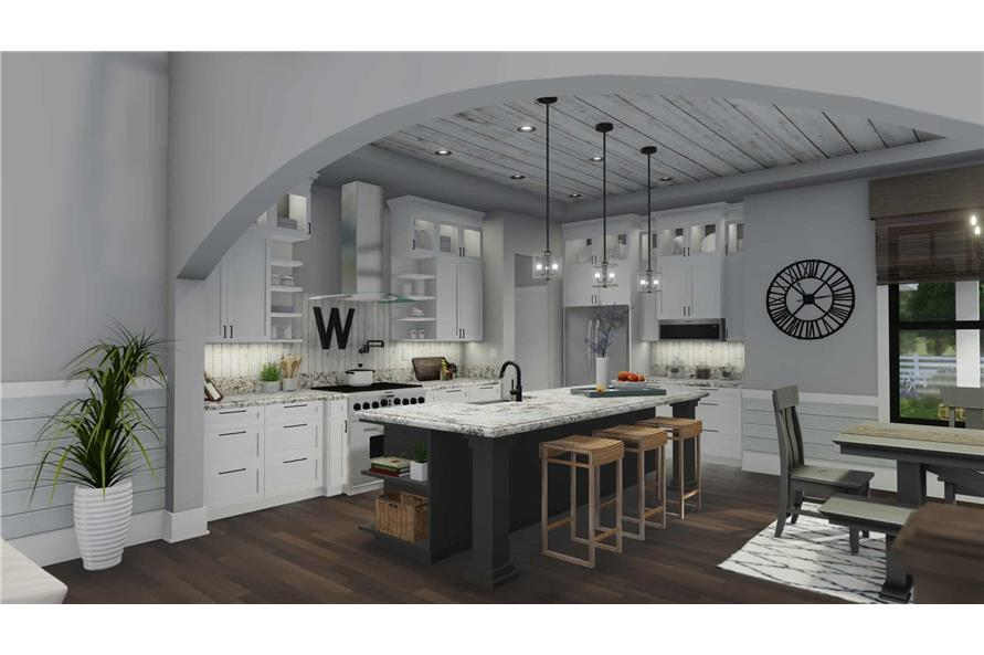 Kitchen of this 3-Bedroom,2214 Sq Ft Plan -2214