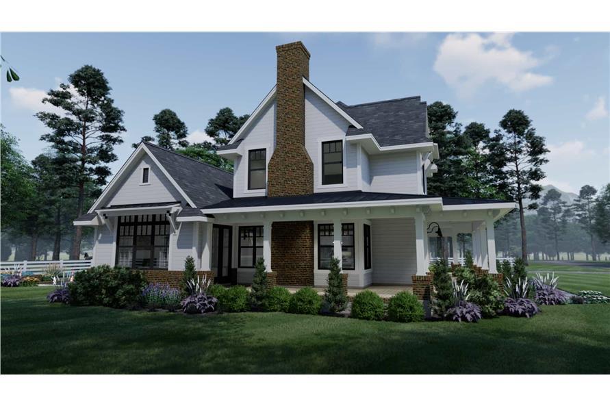 Home Plan Rendering of this 3-Bedroom,2214 Sq Ft Plan -2214