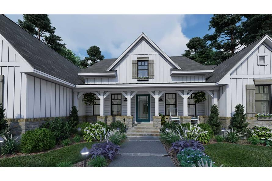 Porch of this 4-Bedroom,2459 Sq Ft Plan -2459