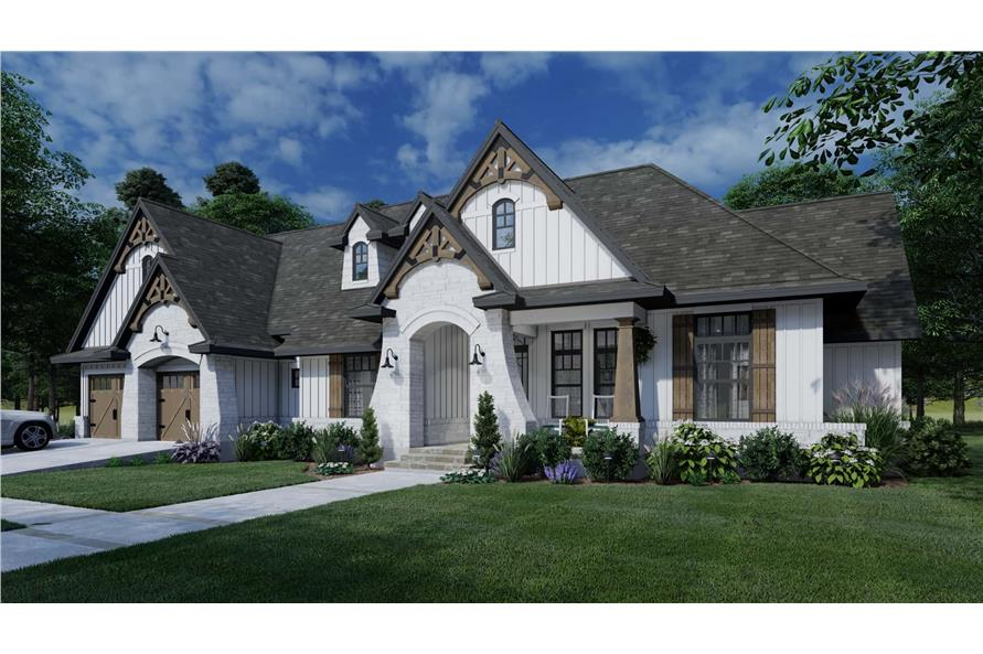 Home Exterior Photograph of this 4-Bedroom,2353 Sq Ft Plan -2353
