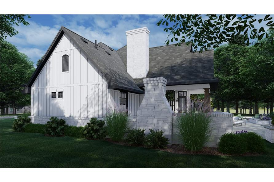 Side View of this 4-Bedroom,2353 Sq Ft Plan -2353