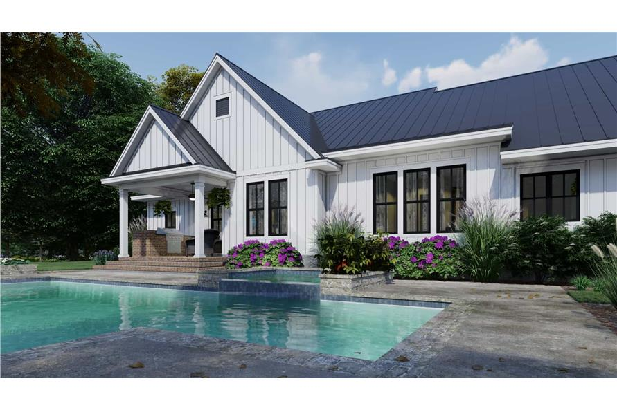 Pool of this 3-Bedroom,2192 Sq Ft Plan -2192