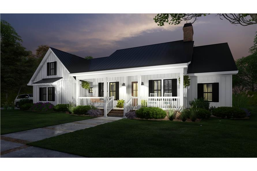 Home at Night of this 3-Bedroom,2192 Sq Ft Plan -2192