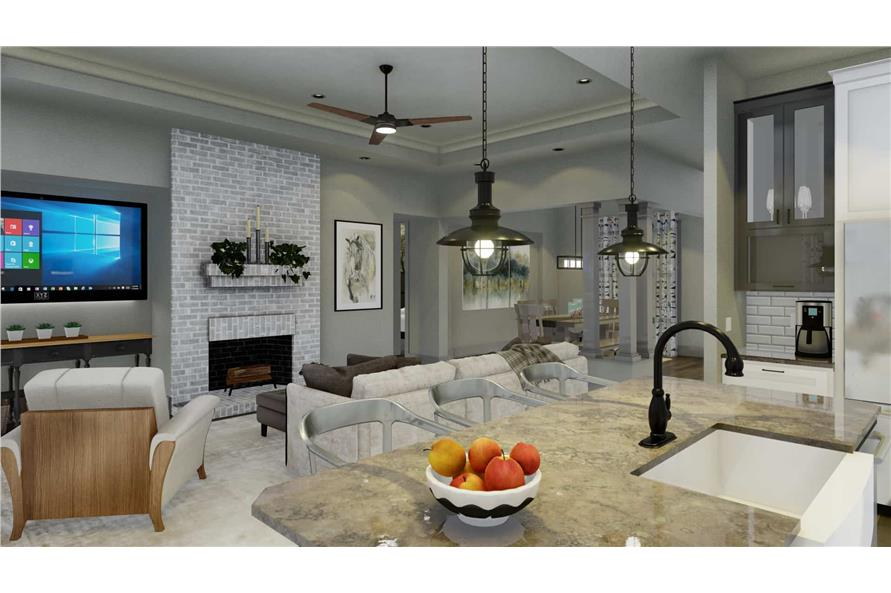 Kitchen of this 3-Bedroom,2192 Sq Ft Plan -2192