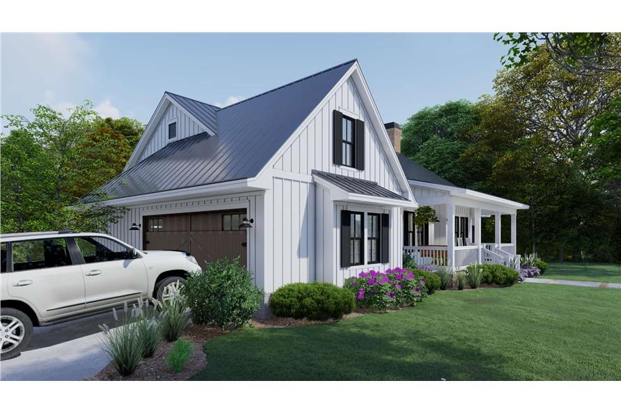 Garage of this 3-Bedroom,2192 Sq Ft Plan -2192