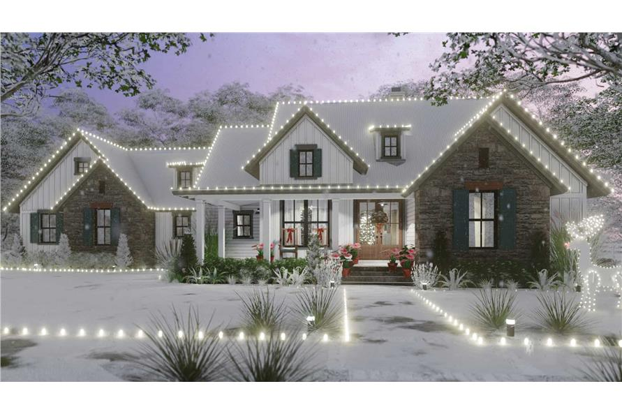 Home at Holidays of this 3-Bedroom,1988 Sq Ft Plan -117-1139