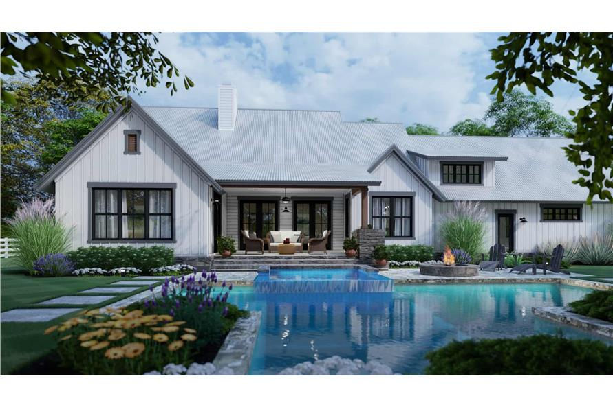 Pool of this 3-Bedroom,1988 Sq Ft Plan -117-1139