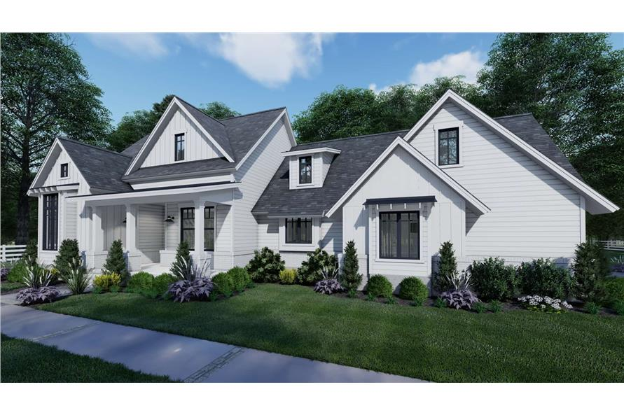 Right View of this 3-Bedroom,1486 Sq Ft Plan -117-1140