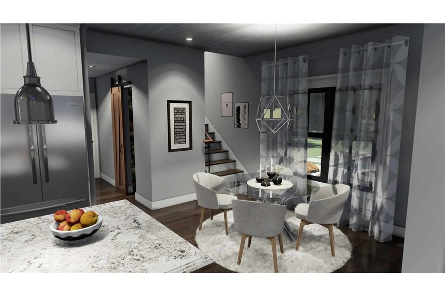 Dining Room of this 3-Bedroom,1742 Sq Ft Plan -117-1141
