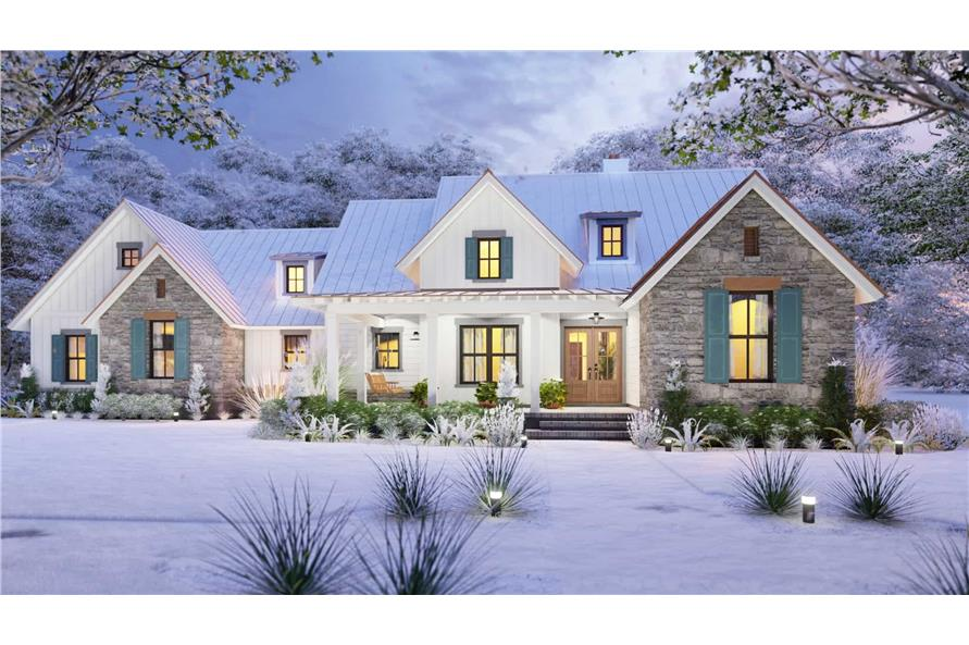 Home at Holidays of this 3-Bedroom,1742 Sq Ft Plan -117-1141