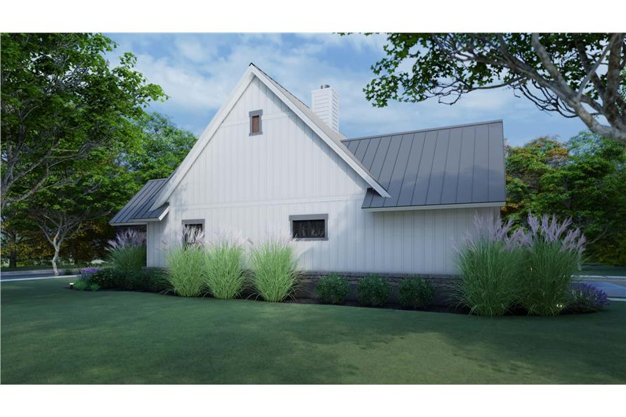 Side View of this 3-Bedroom,1742 Sq Ft Plan -117-1141