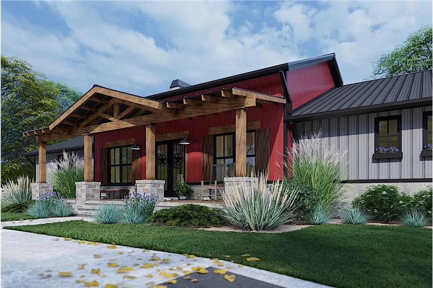 Right View of this 3-Bedroom,2486 Sq Ft Plan -117-1143