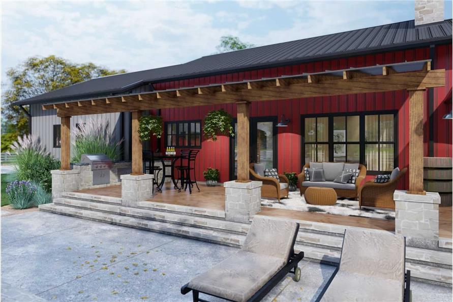 Porch of this 3-Bedroom,2486 Sq Ft Plan -117-1143
