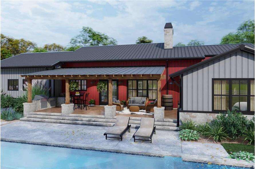 Patio of this 3-Bedroom,2486 Sq Ft Plan -117-1143