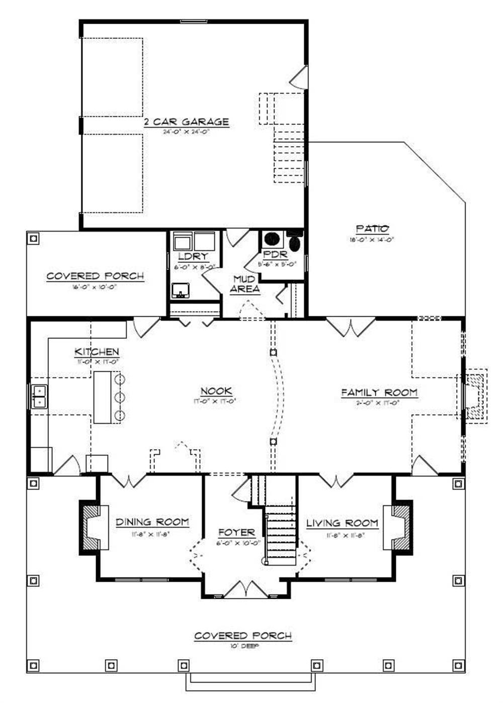 Floor Plan Fifth Story for country home plans # CR-534-B