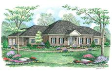 Main image for country house plan # 18094