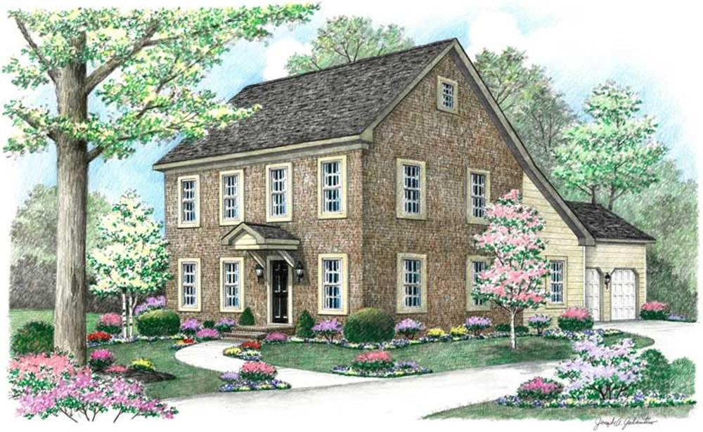 Main image for house plan # 18051