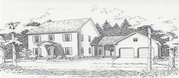 House Plan CR-501 Front Elevation