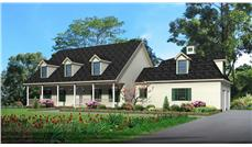 Main image for country house plans # 18091
