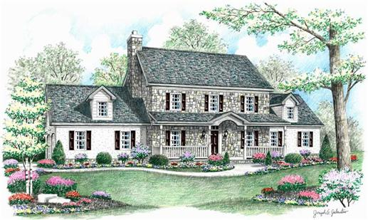 Main image for house plan # 18073