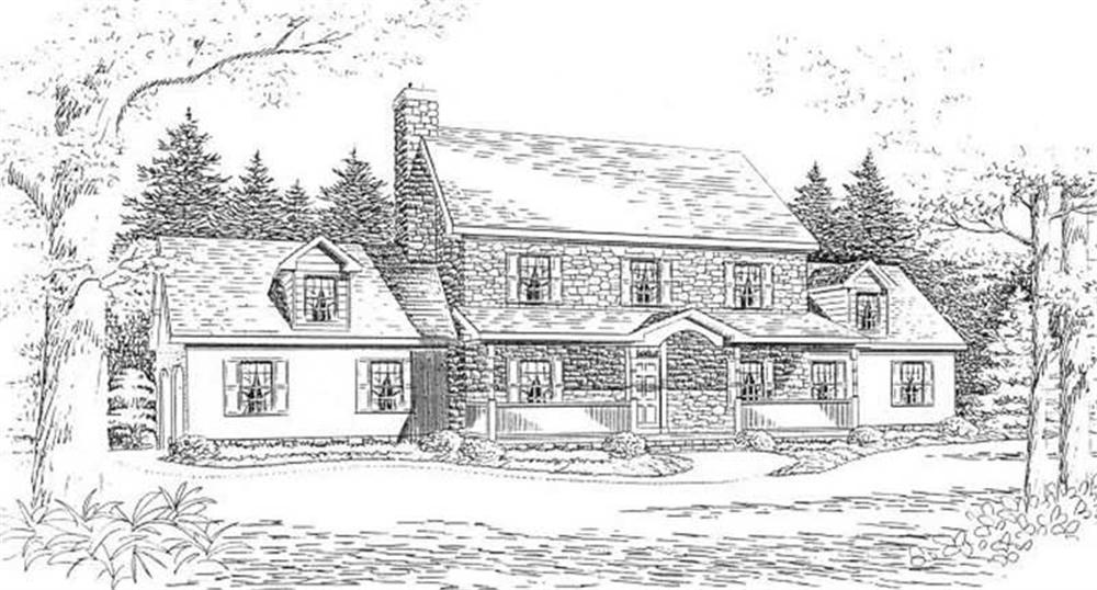 House Plan CR-505 Front Elevation
