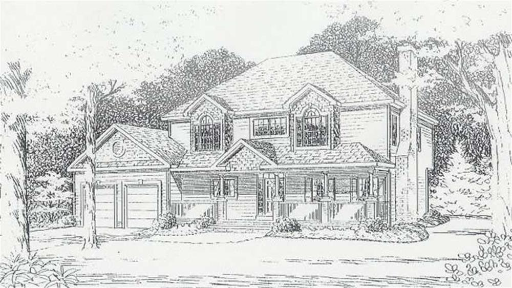 House Plan CR-515 Front Elevation
