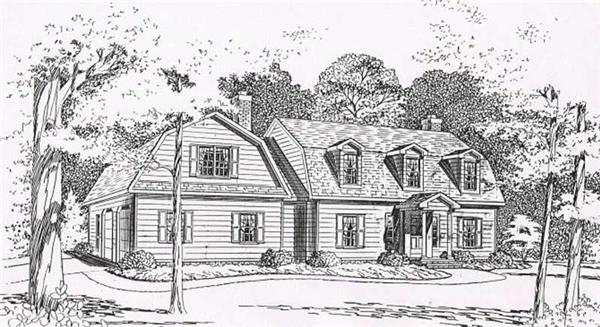House Plan CR-510 Front Elevation