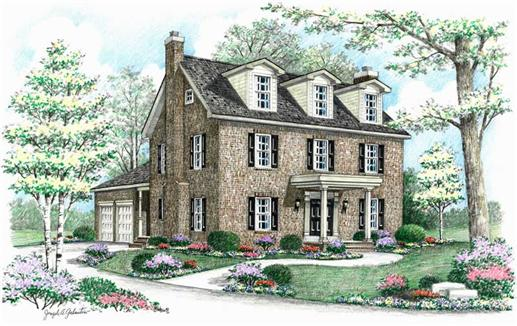 Main image for house plan # 18088