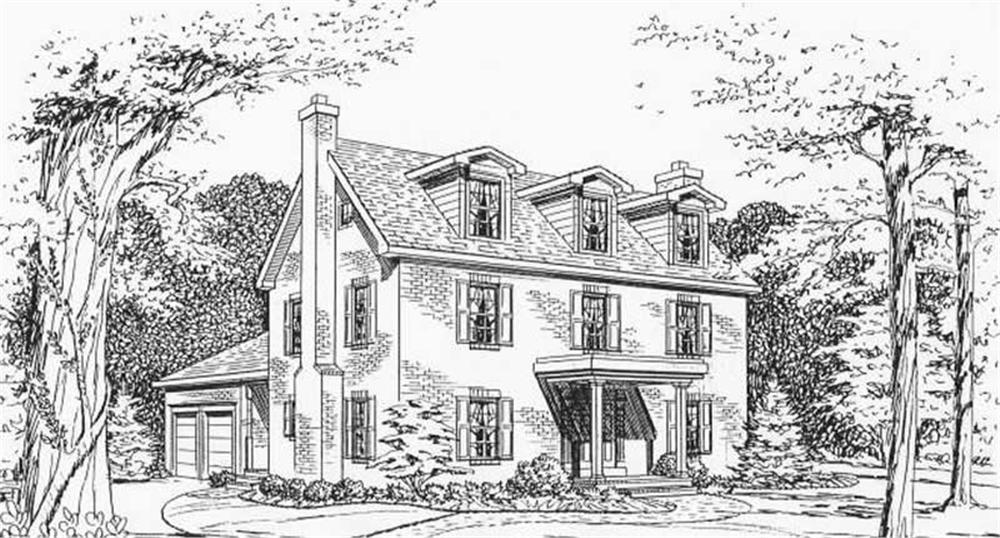 House Plan CR-508 Front Elevation