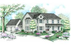 Main image for country houseplans # CR-609