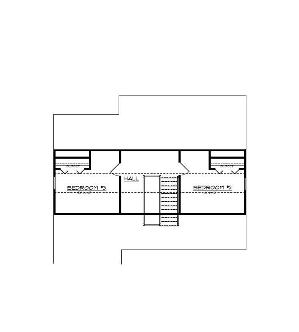 Floor Plan Third Story for country home plans # CR-609
