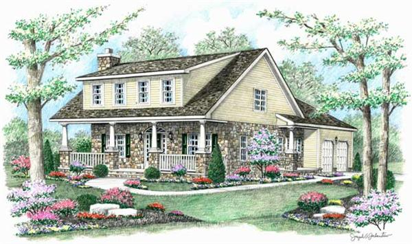 Main image for country house plans # 18075
