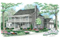 Main Image for country houseplans # CR-509-A