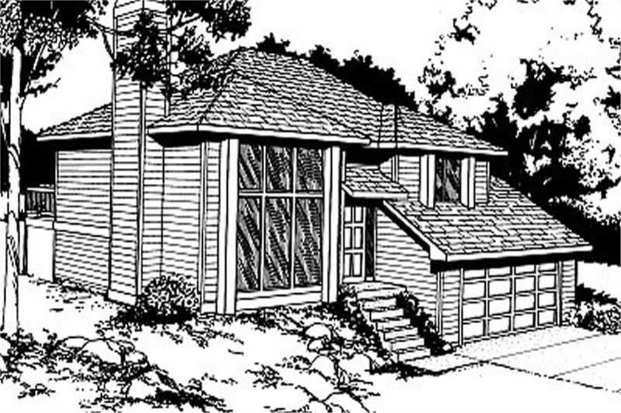 Main image for house plan # 1941