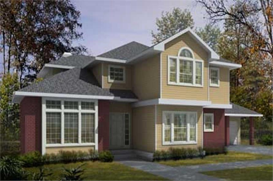 Main image for house plan # 17077
