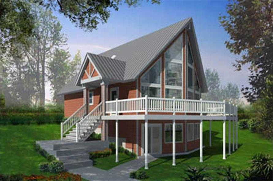 Main image for house plan # 17123