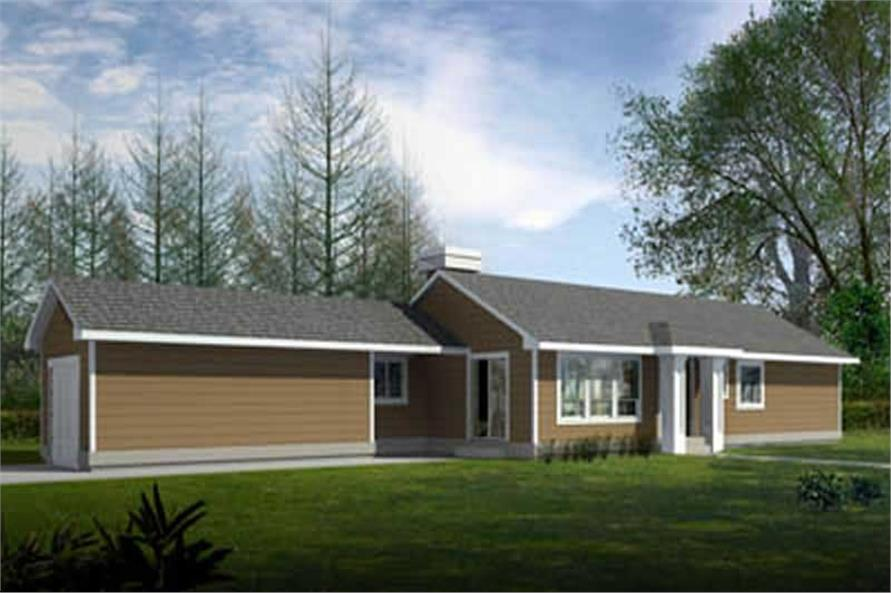 Main image for house plan # 17118