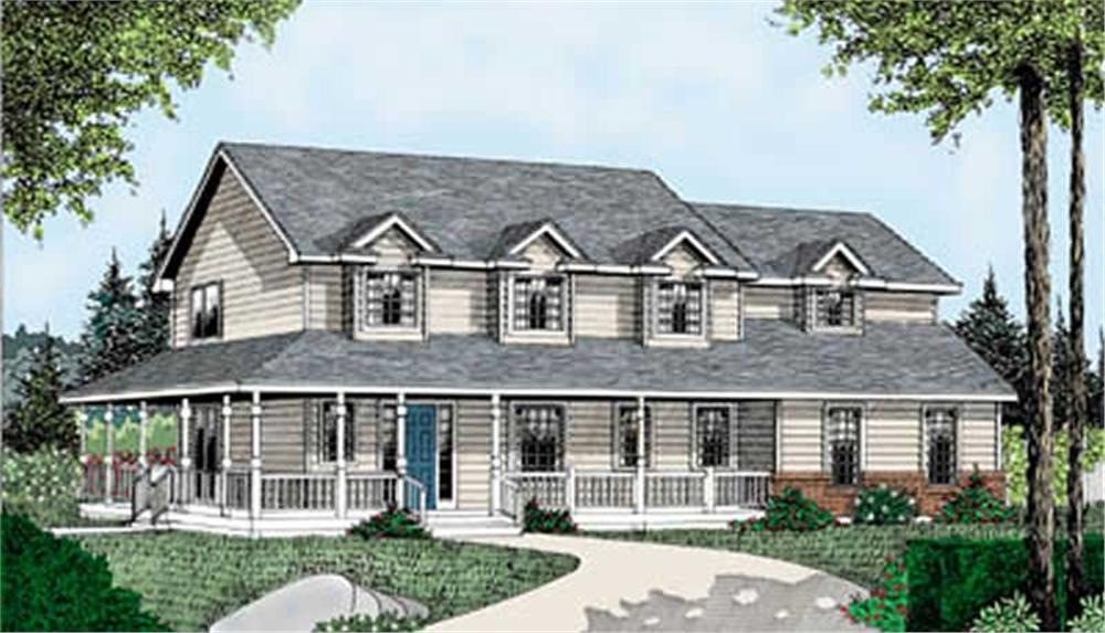 Main image for house plan # 2058